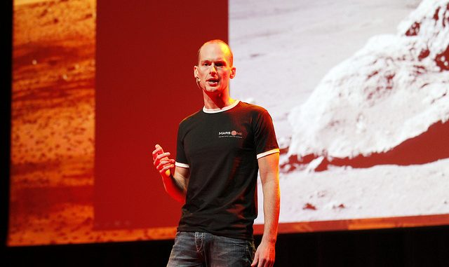 Bas Lansdorp à la conférence TedxDelft en 2012