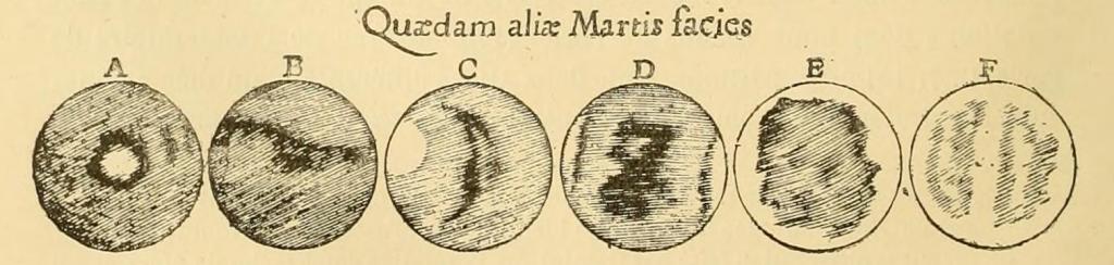 Observation de Mars par Cassini en 1666