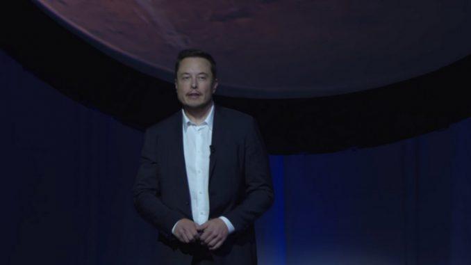 Elon Musk conférence Mars