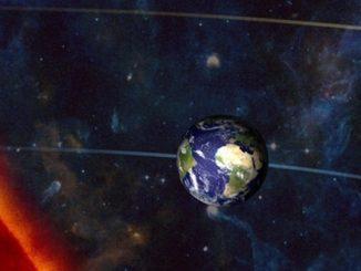 Orbite de mars et de la Terre