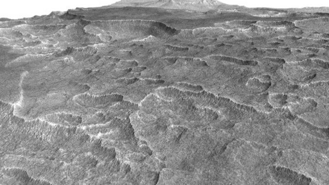 Surface d'Utopia Planitia