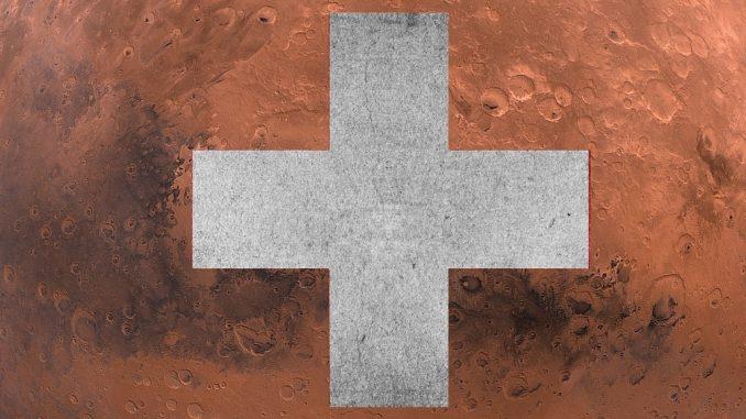 La suisse bientôt sur Mars
