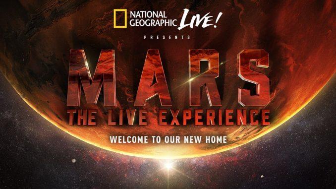 Série Mars du National Geographic réalisée par Ron Howard