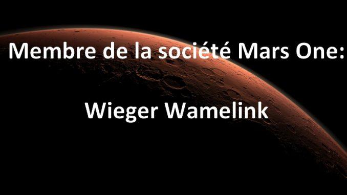 Wieger Wamelink membre de Mars One