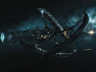 Vaisseau du film Passengers, l'Avalon