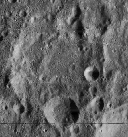 cratère lunaire Leo Brenner